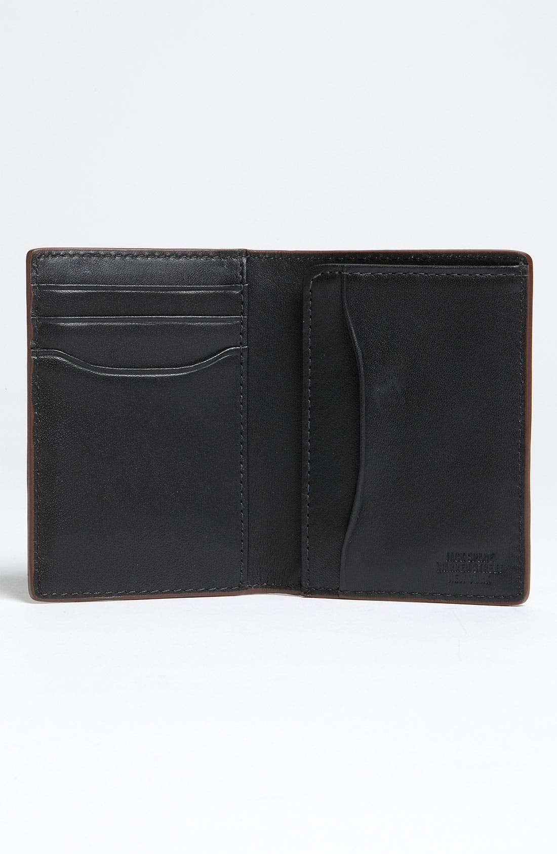 Alternate Image 2  - Jack Spade 'Vertical Flap' Mill Leather Wallet