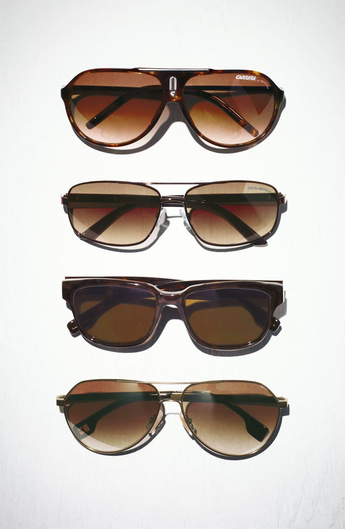 Alternate Image 2  - BOSS Orange 60mm Aviator Sunglasses