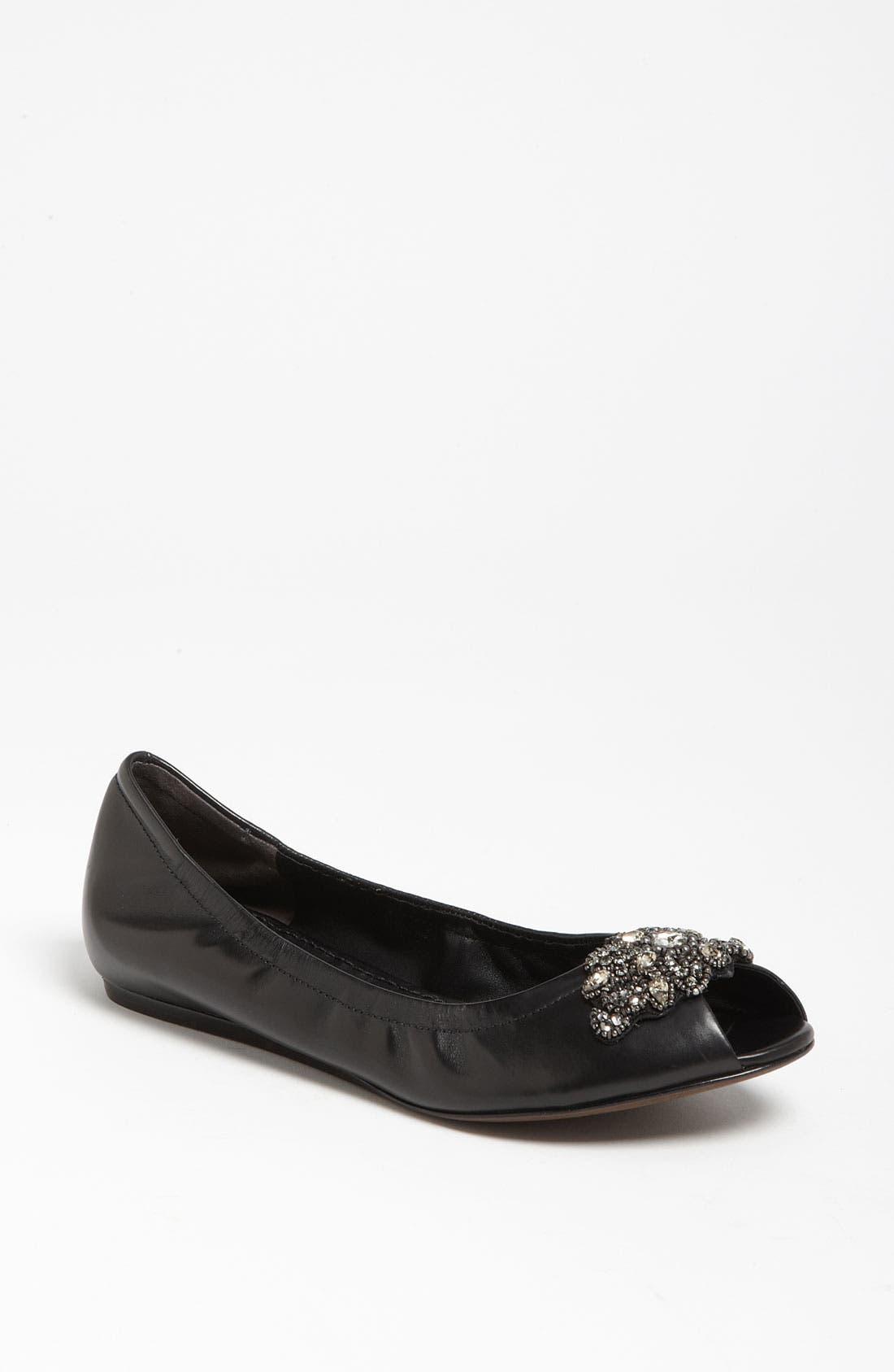 Alternate Image 1 Selected - Vera Wang Footwear 'Lanelle' Hidden Wedge Flat (Nordstrom Exclusive)