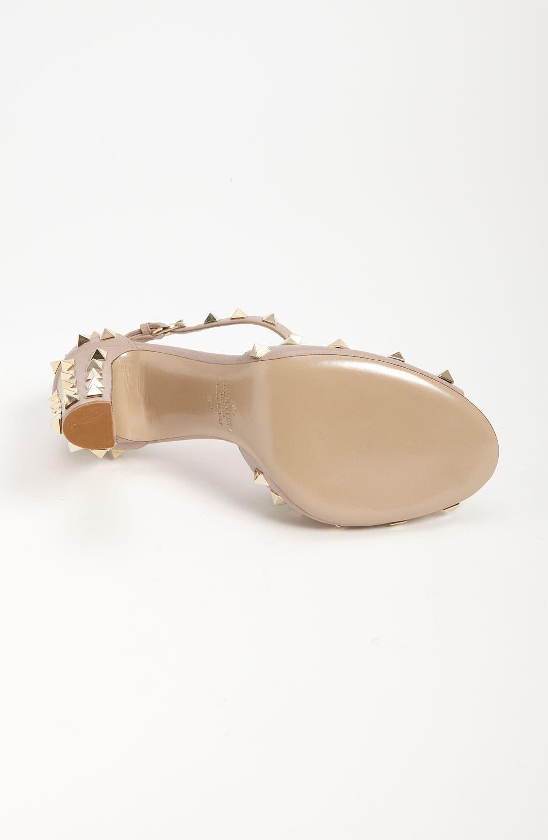 Alternate Image 4  - Valentino Studded Sandal