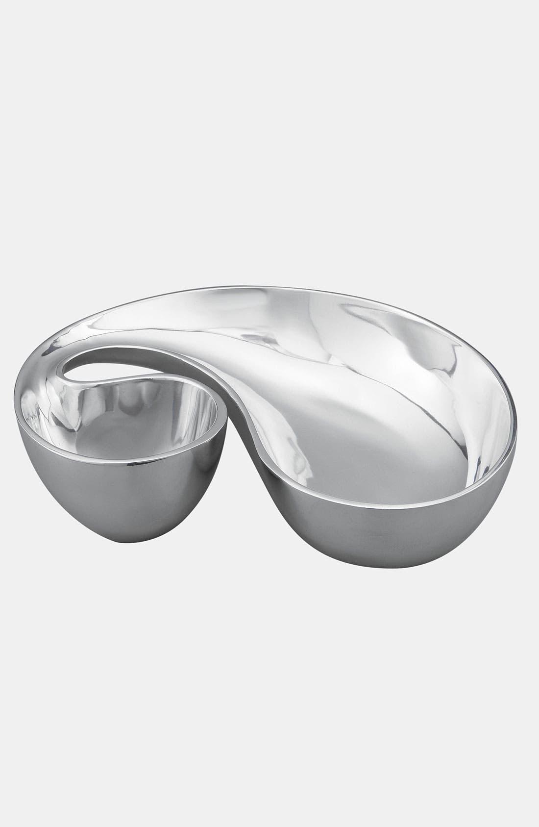 Alternate Image 1 Selected - Nambé 'Morphik' Chip & Dip Dish