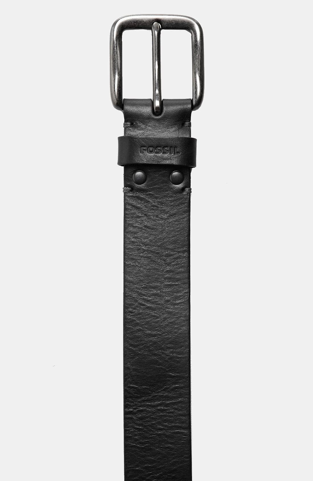Alternate Image 2  - Fossil 'Brody' Leather Belt