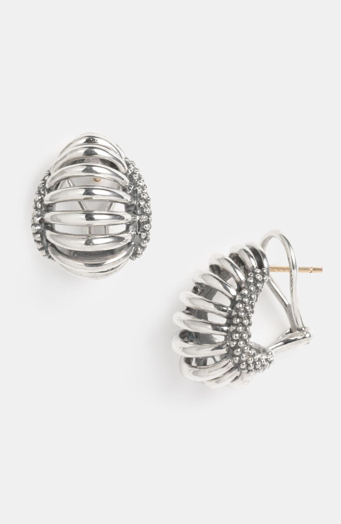 Alternate Image 1 Selected - LAGOS 'Interlude' Hoop Earrings