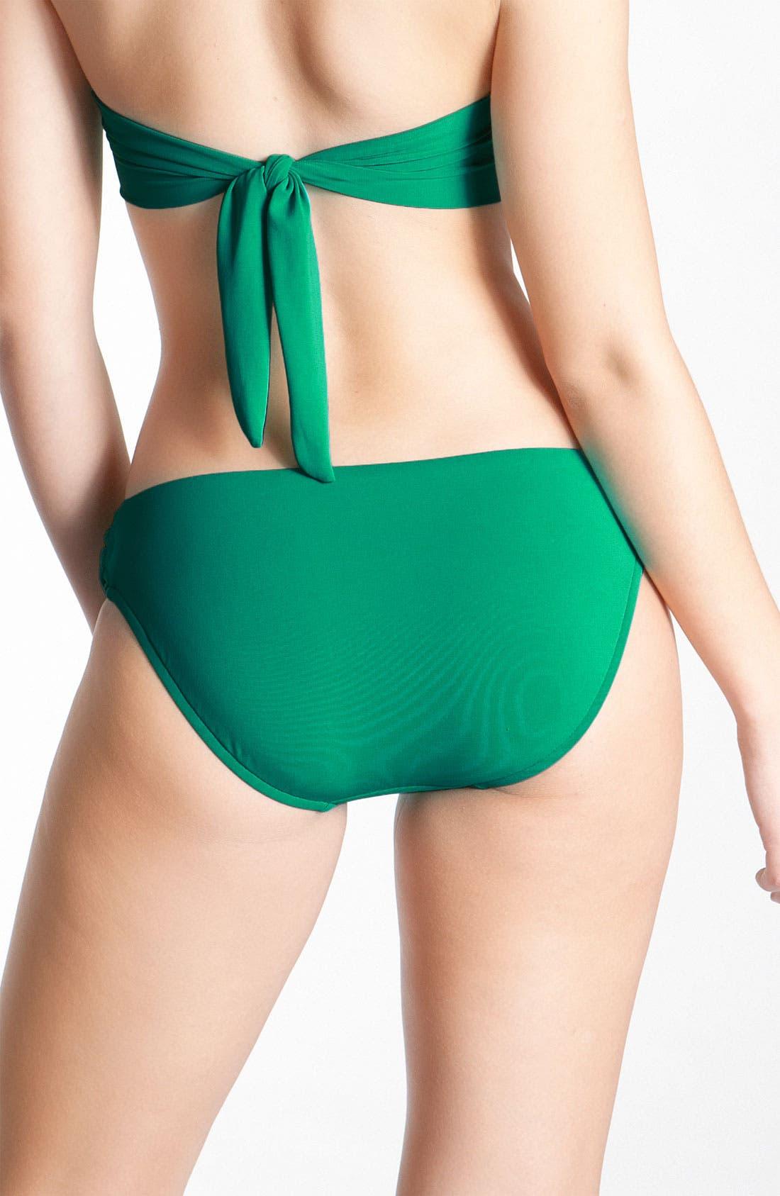 Alternate Image 2  - Robin Piccone Pleated Bikini Bottoms