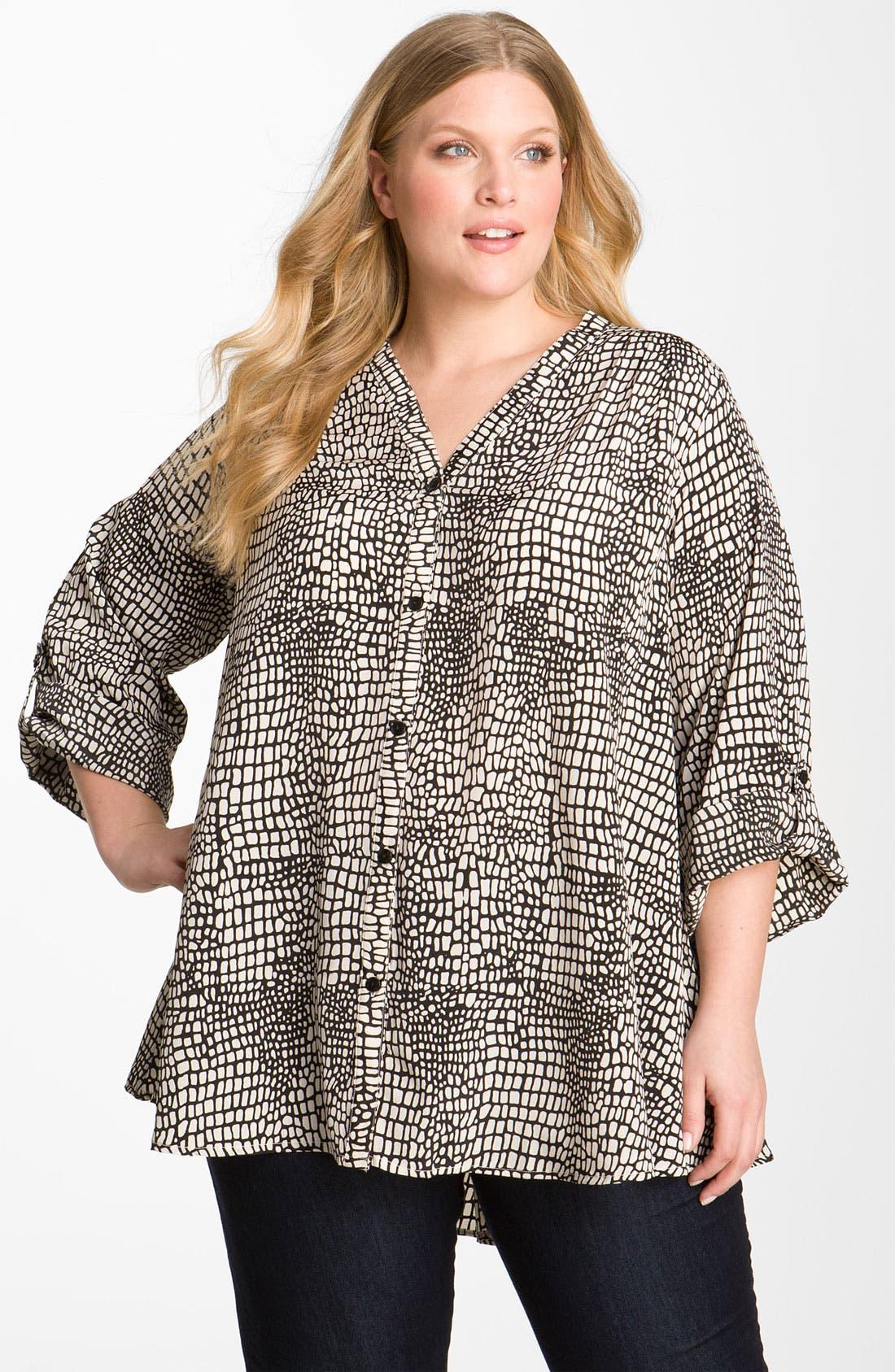 Main Image - Tolani 'Marian' Tunic (Plus Size)