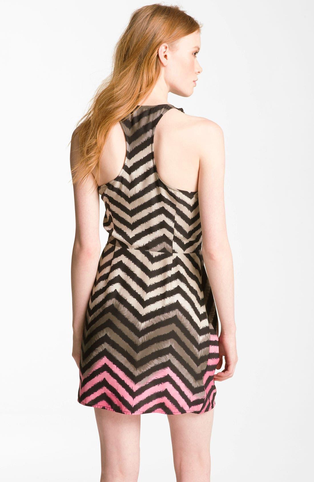Alternate Image 2  - Parker Wrap Silk Minidress