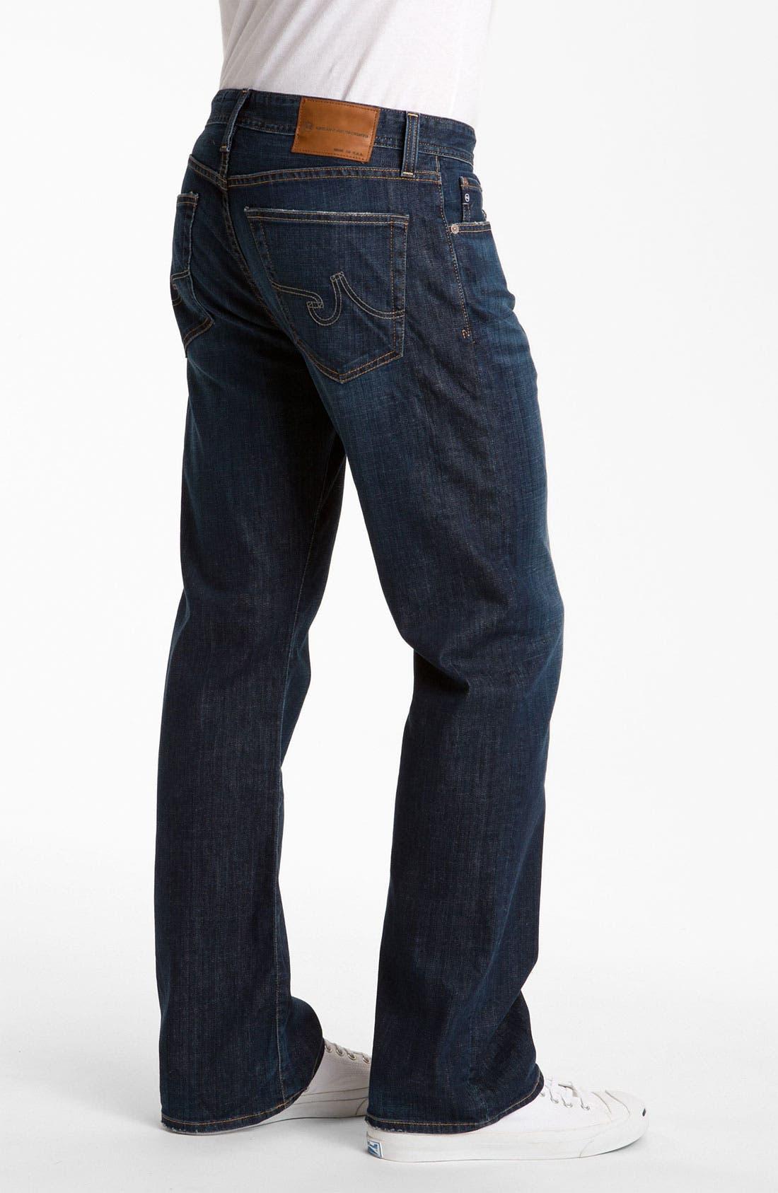 Alternate Image 3  - AG Jeans 'Hero' Relaxed Fit Jeans (Kearney)
