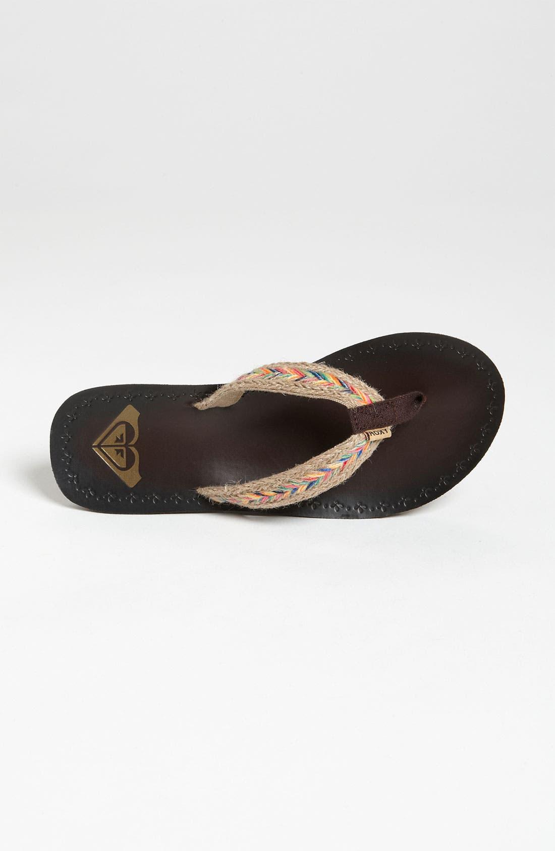 Alternate Image 3  - Roxy 'Fiji' Flip Flop