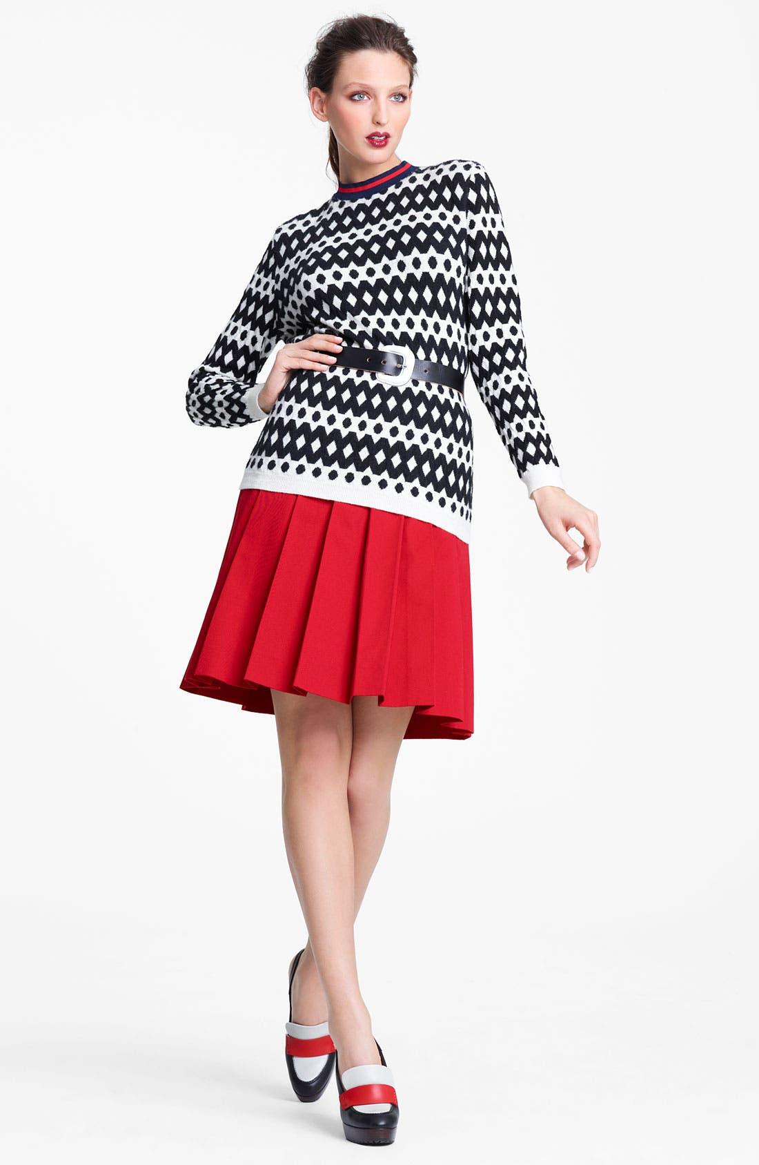 Alternate Image 4  - Marni Edition Contrast Waist Gabardine Skirt