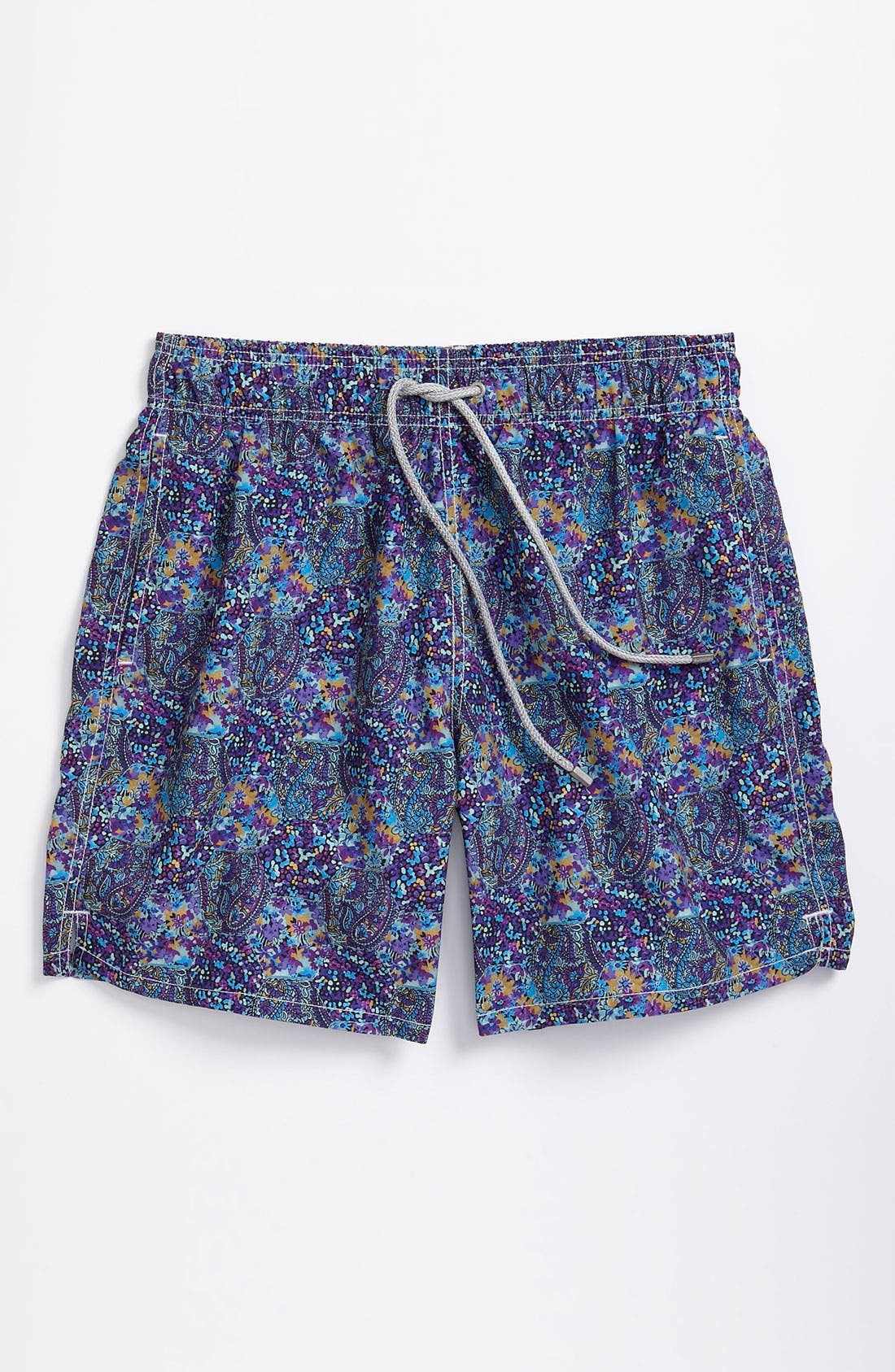 Main Image - Bugatchi Uomo Volley Swim Shorts (Men)