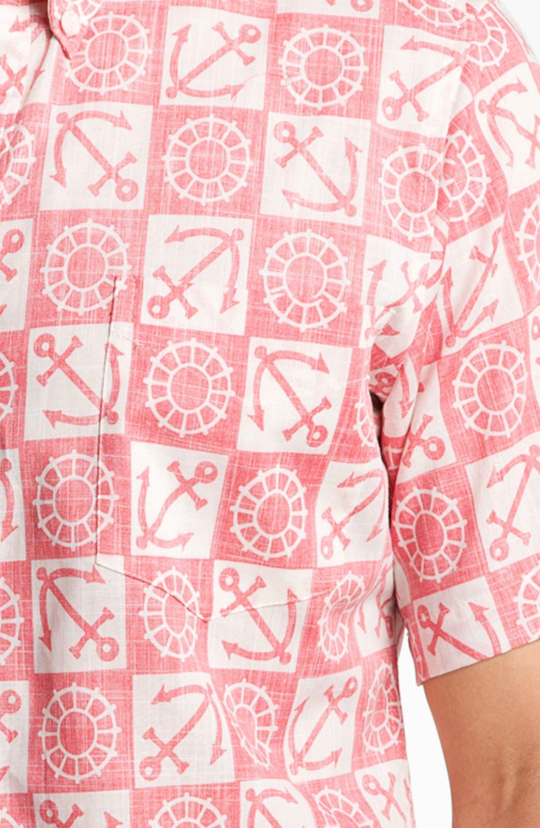 Alternate Image 3  - Reyn Spooner 'Ko Olina Harbor' Woven Shirt.