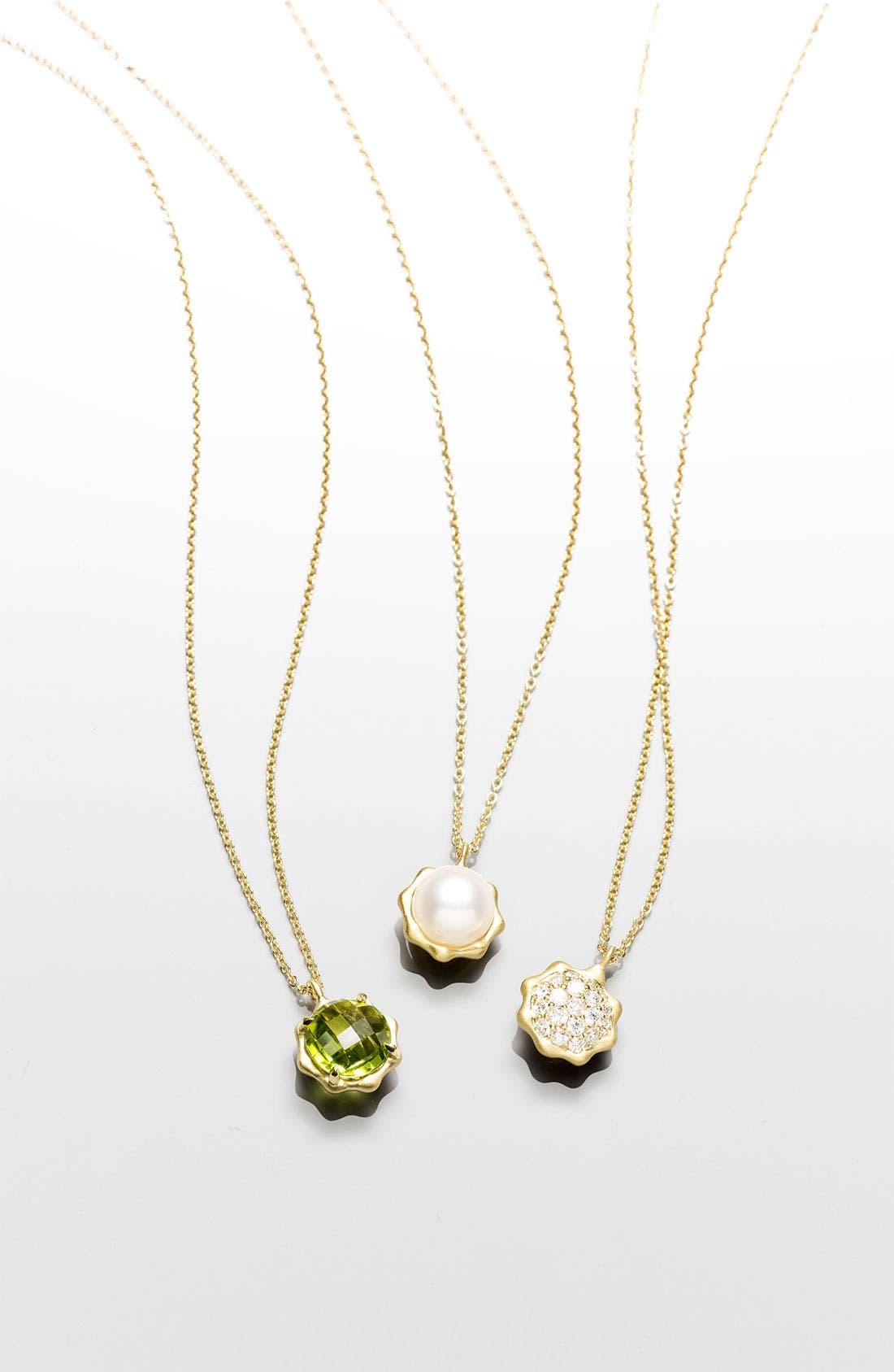 Alternate Image 3  - Carelle 'May' Birthstone Pendant Necklace