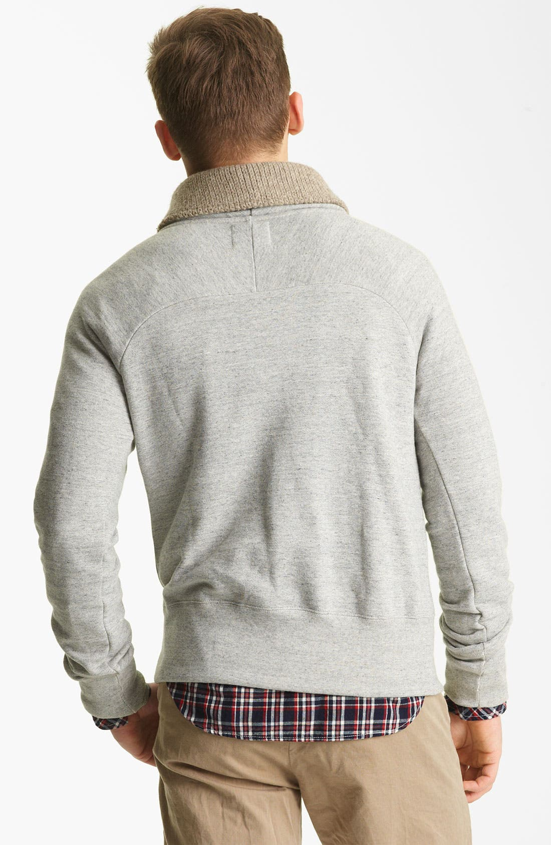 Alternate Image 2  - Billy Reid 'Jackson' Shawl Collar Sweatshirt