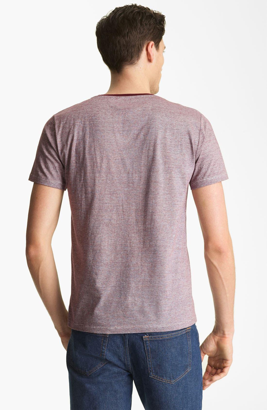 Alternate Image 2  - A.P.C. Stripe T-Shirt