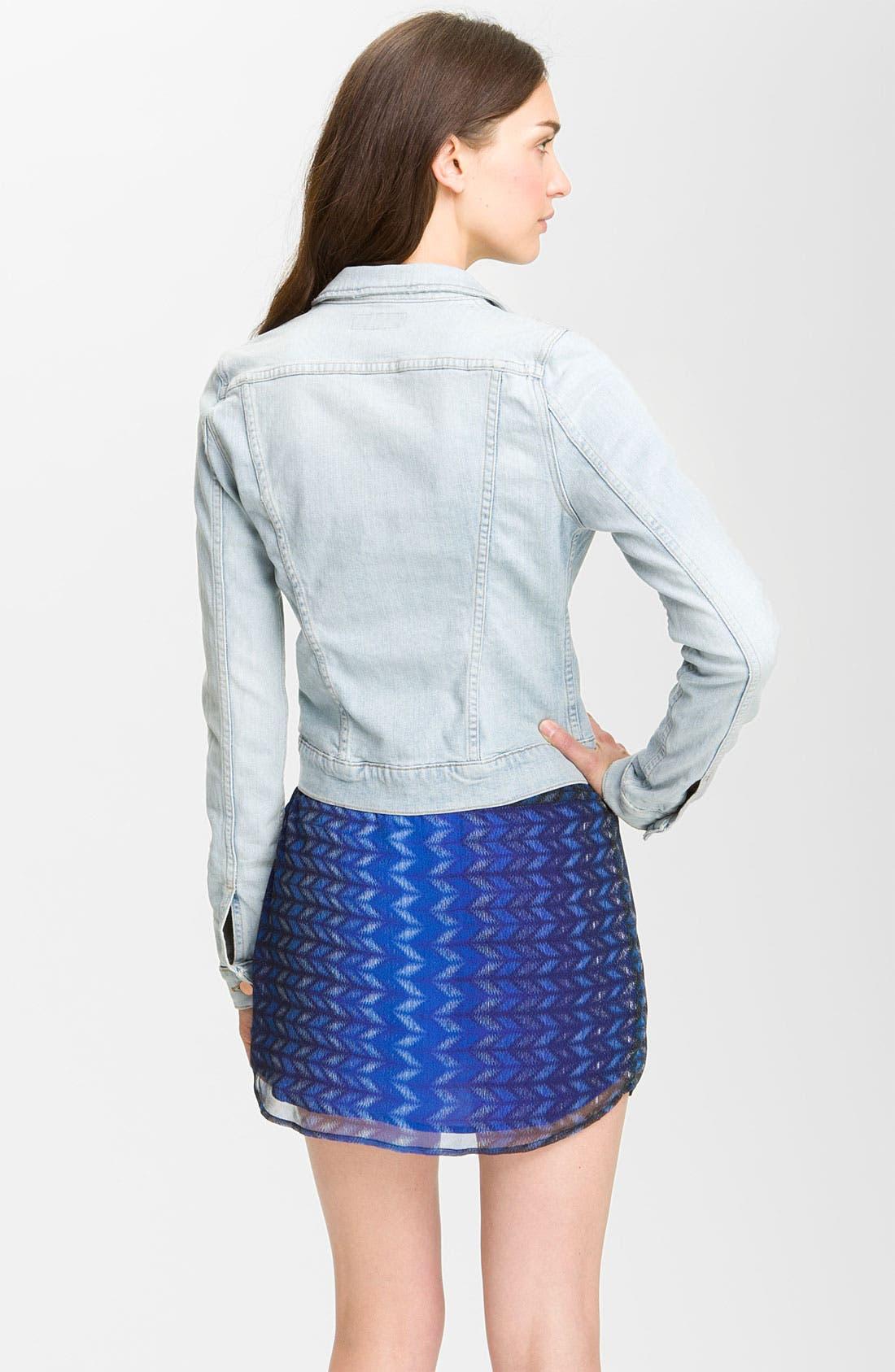 Alternate Image 2  - J Brand Denim Jacket (Atomic)