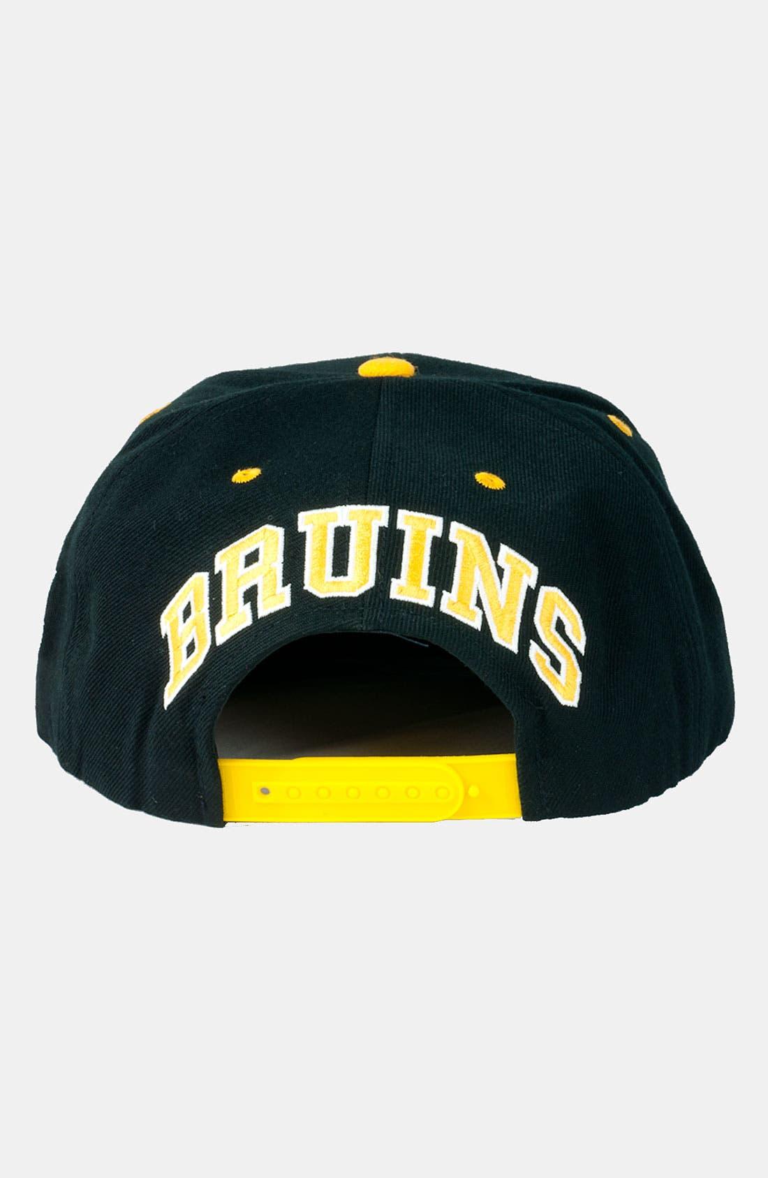 Alternate Image 3  - American Needle 'Bruins - Blockhead' Snapback Baseball Cap
