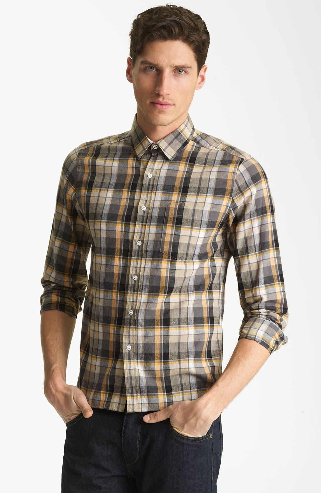 Alternate Image 1 Selected - Shipley & Halmos 'Marine' Washed Woven Shirt