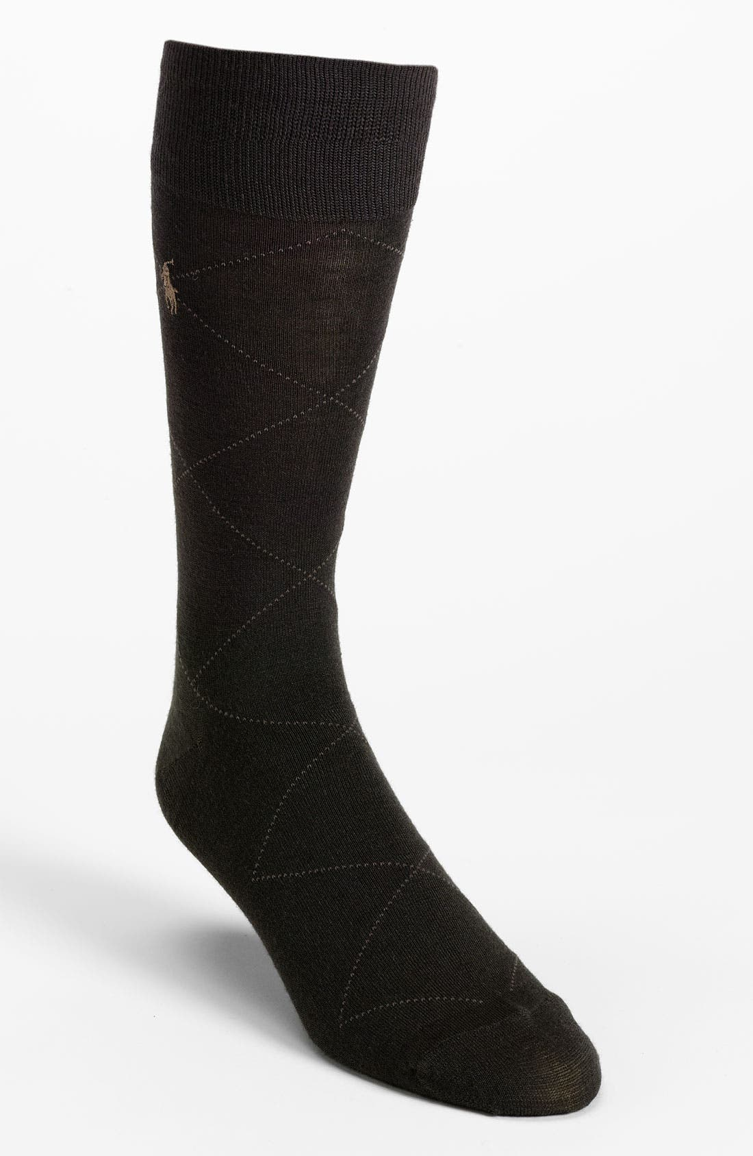 Alternate Image 1 Selected - Polo Ralph Lauren Argyle Socks