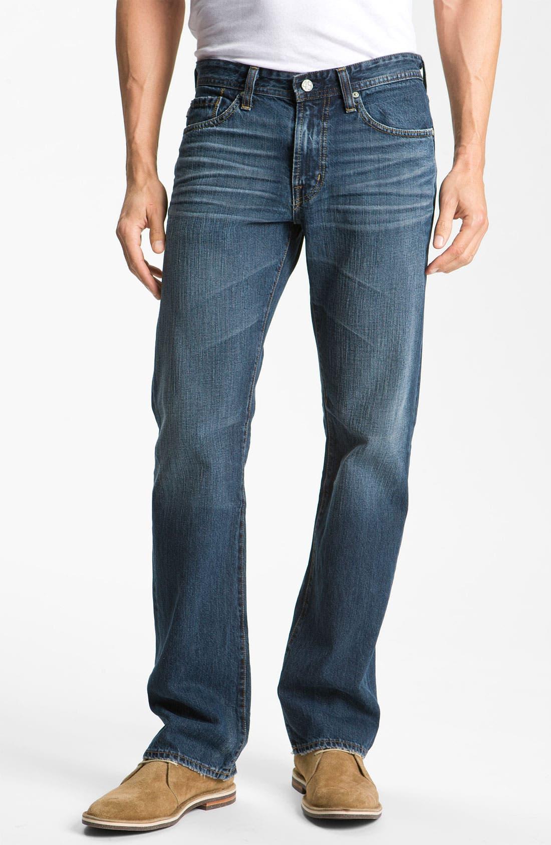 Alternate Image 1 Selected - AG Jeans 'Protégé' Straight Leg Jeans (5 Year Overdyed)