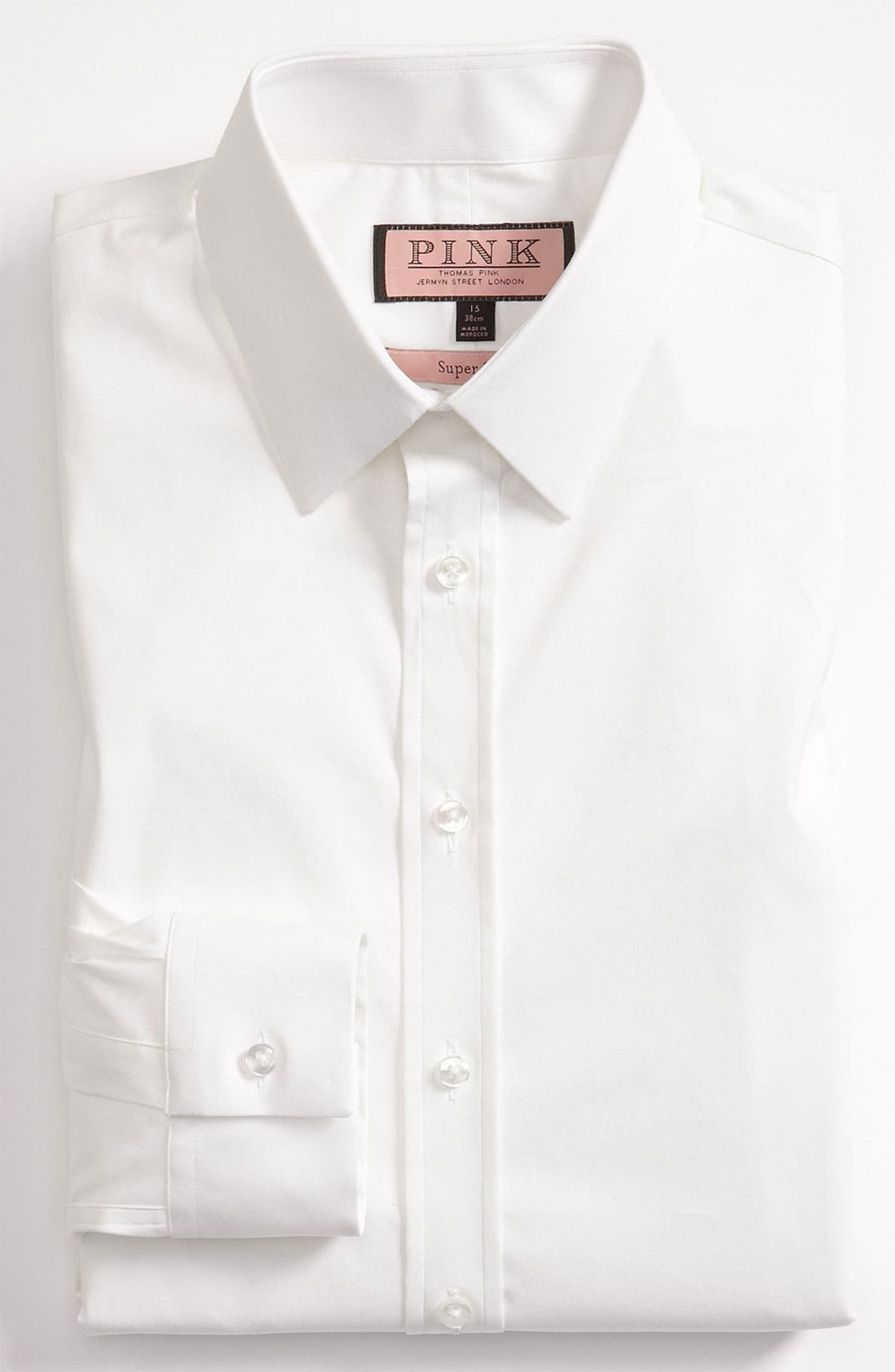 Alternate Image 1 Selected - Thomas Pink Super Slim Fit Dress Shirt