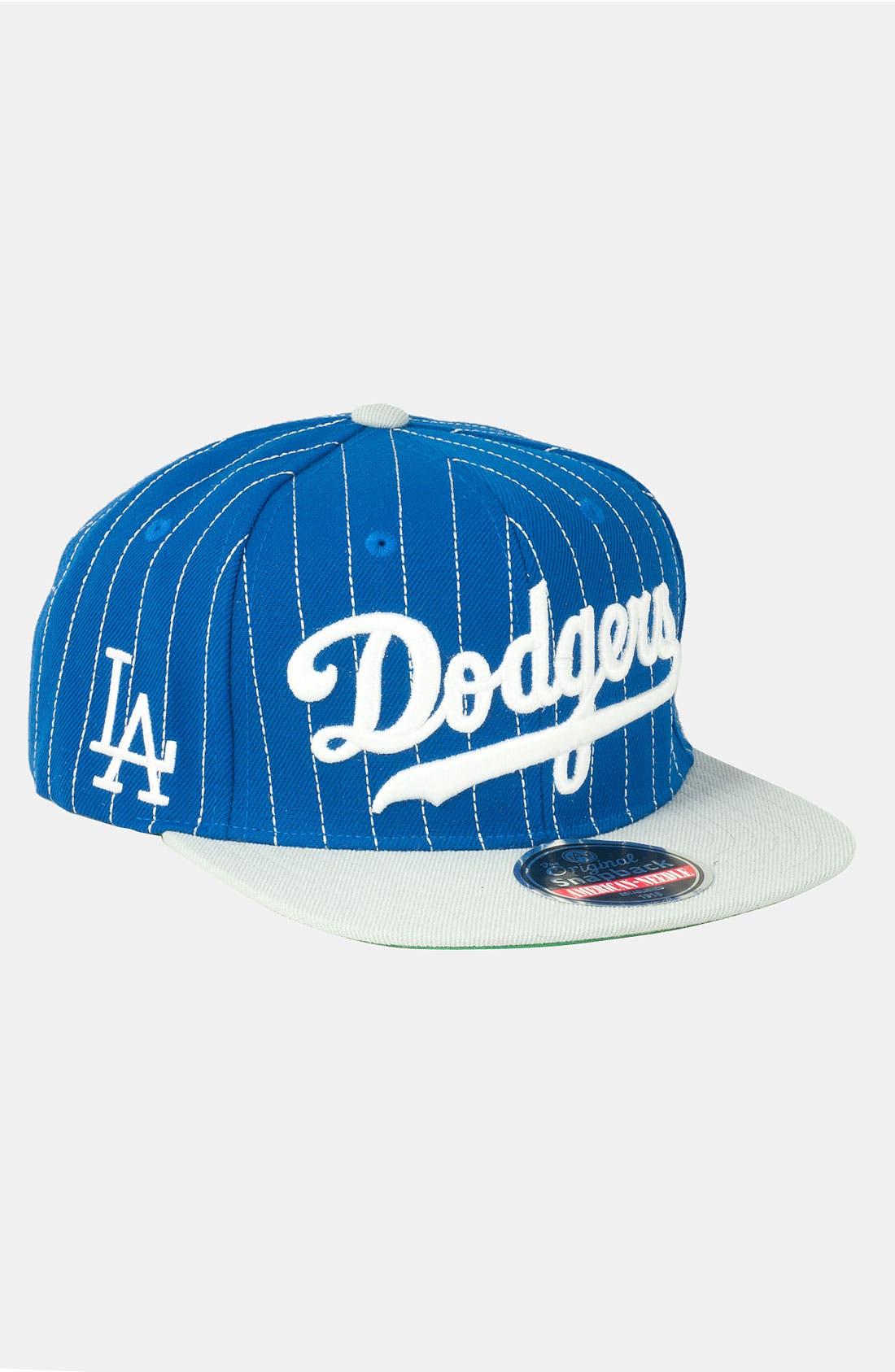 Alternate Image 1 Selected - American Needle 'Dodgers' Snapback Baseball Cap