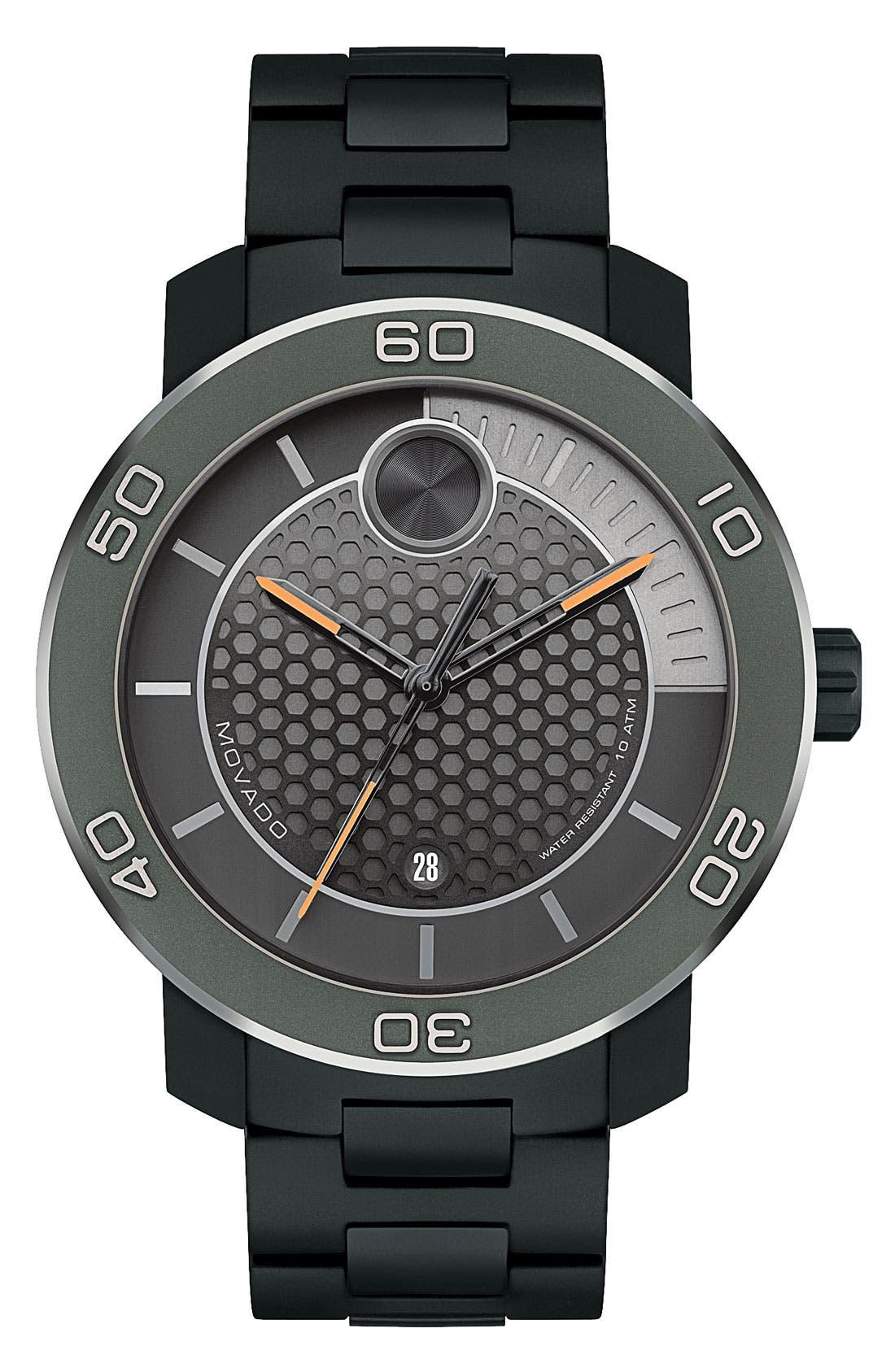 Main Image - Movado 'Bold' Bracelet Watch, 46mm