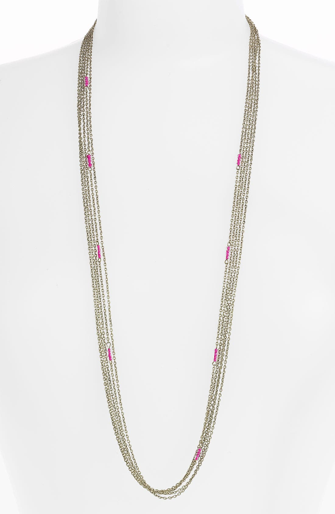 Alternate Image 1 Selected - Stephan & Co. Multi Chain Necklace