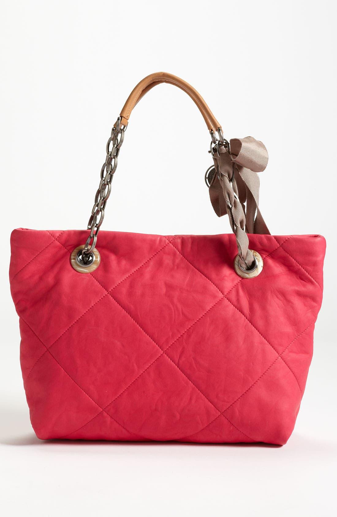 Alternate Image 4  - Lanvin 'Amalia - Small' Leather Tote