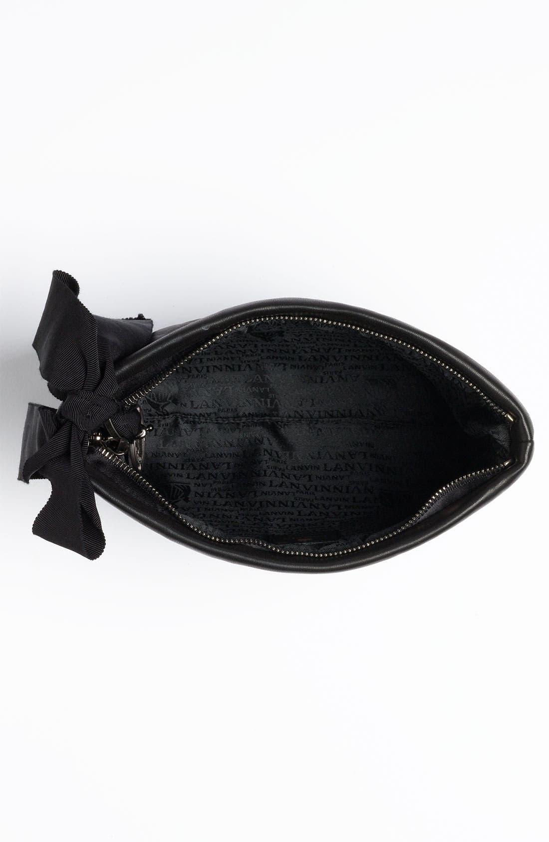 Alternate Image 3  - Lanvin 'Amalia' Leather Pouchette