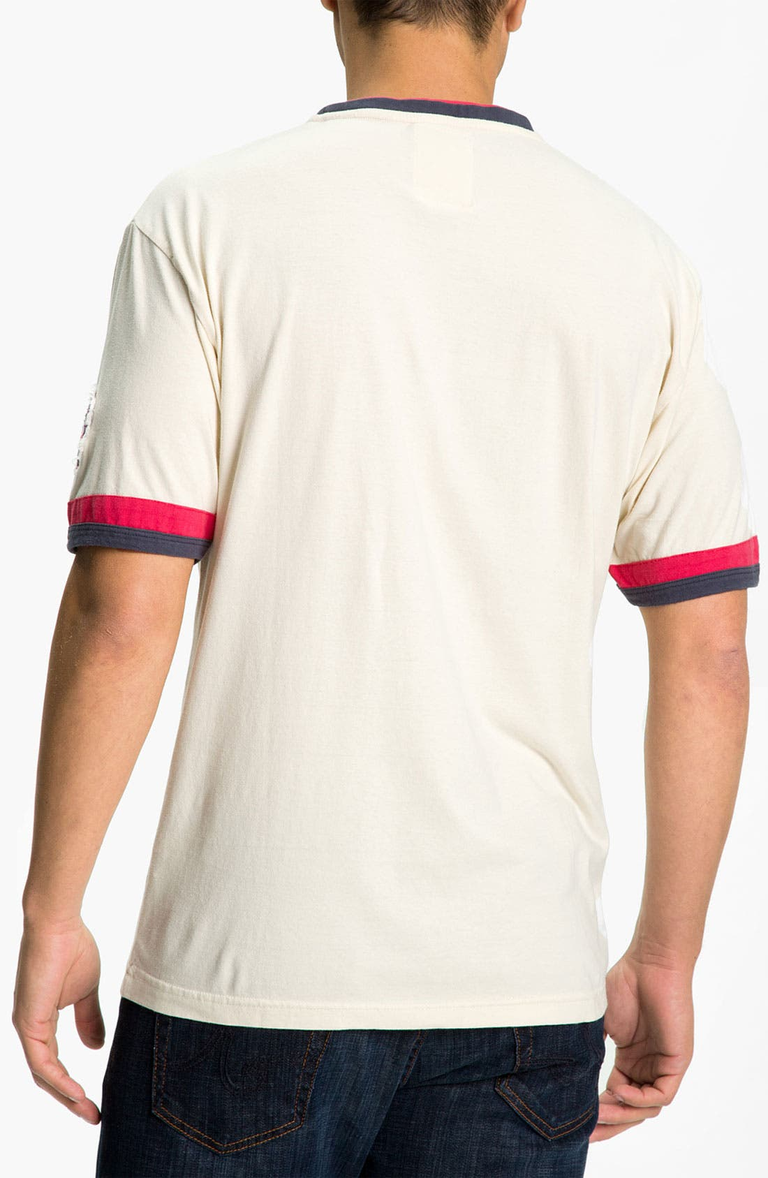 Alternate Image 2  - Red Jacket 'Minnesota Twins' Trim Fit Crewneck Ringer T-Shirt (Men)