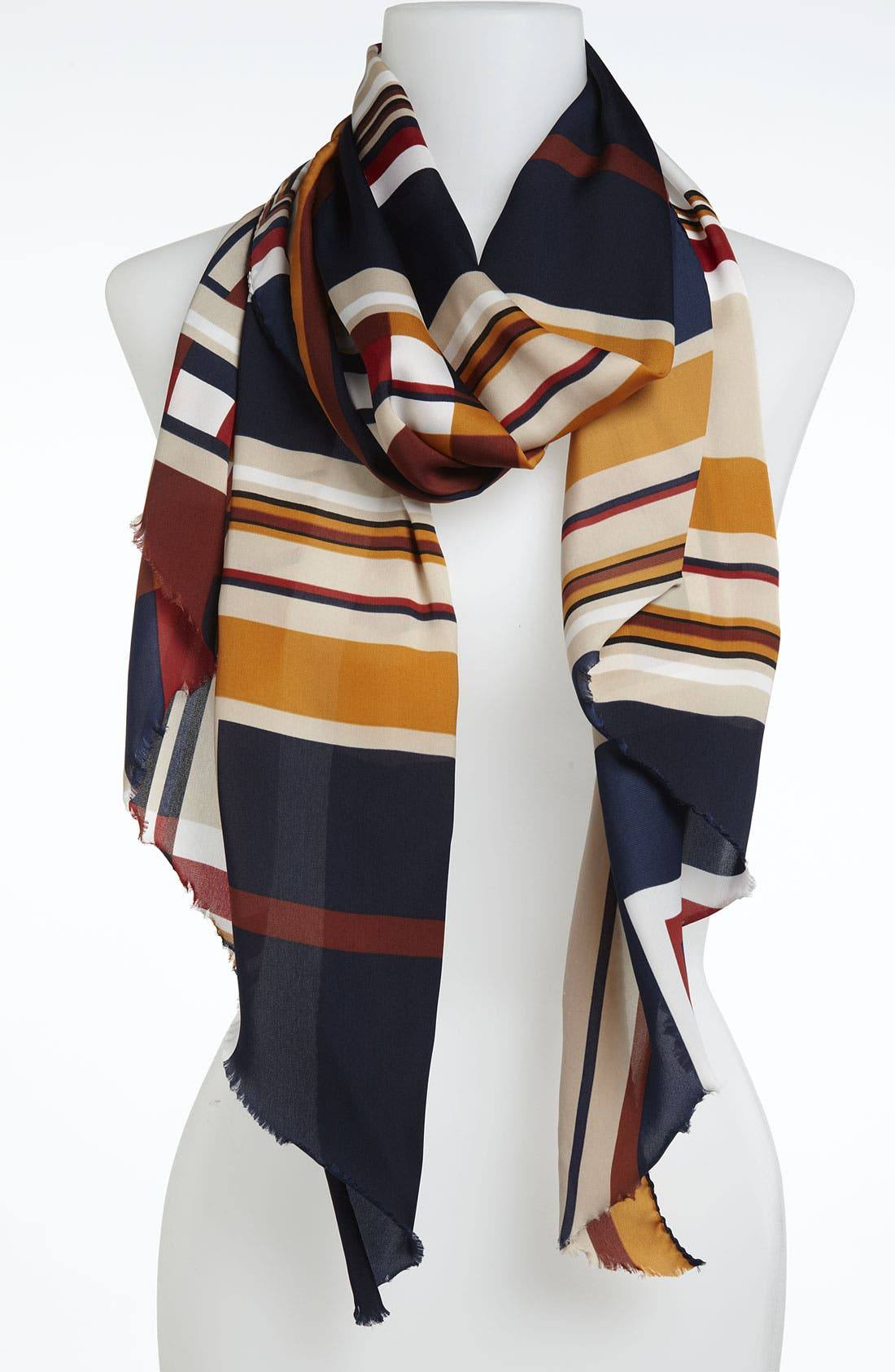 Alternate Image 1 Selected - Trouvé 'Geo Square' Scarf
