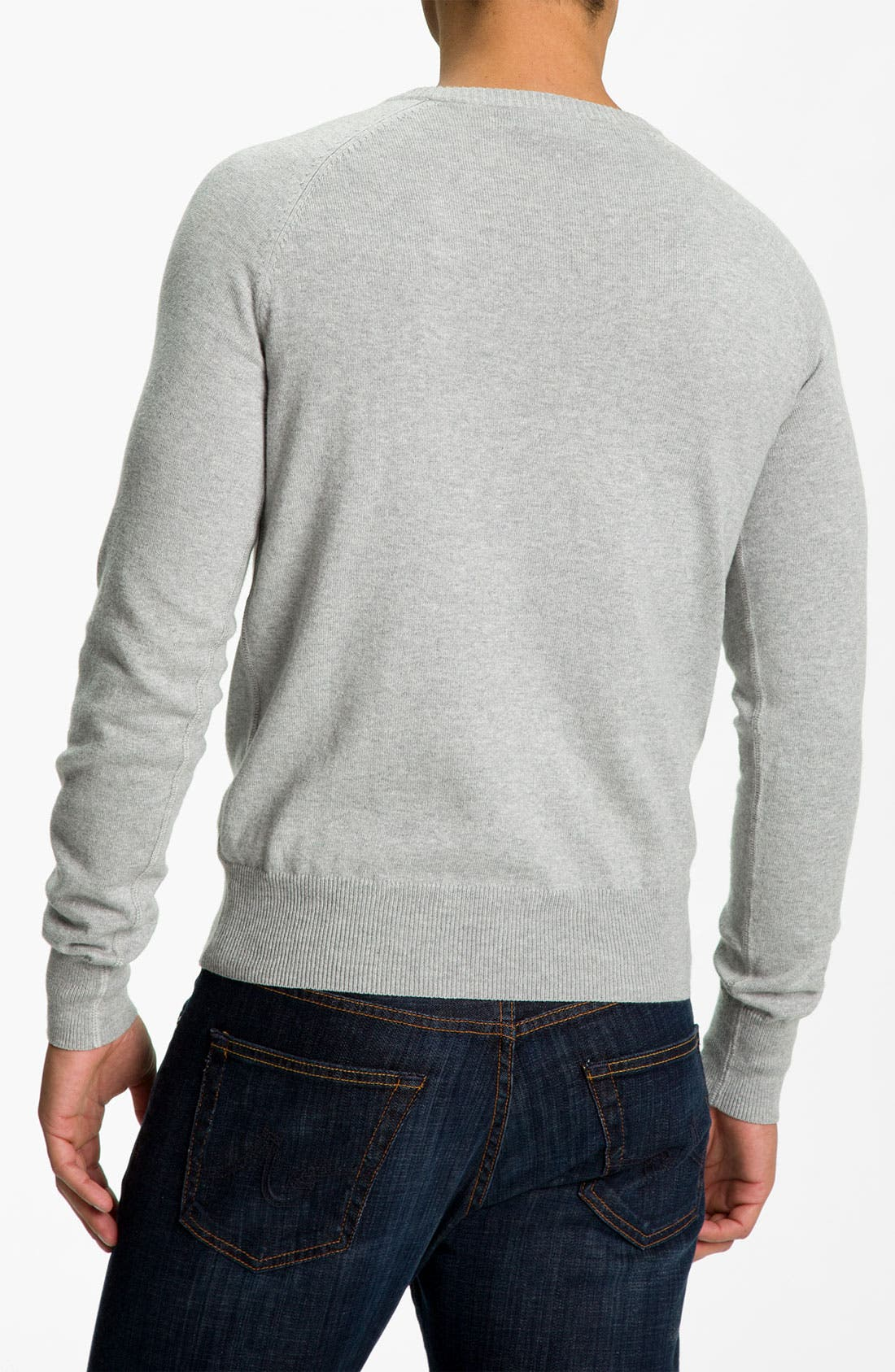 Alternate Image 2  - Façonnable Cotton & Cashmere Sweater
