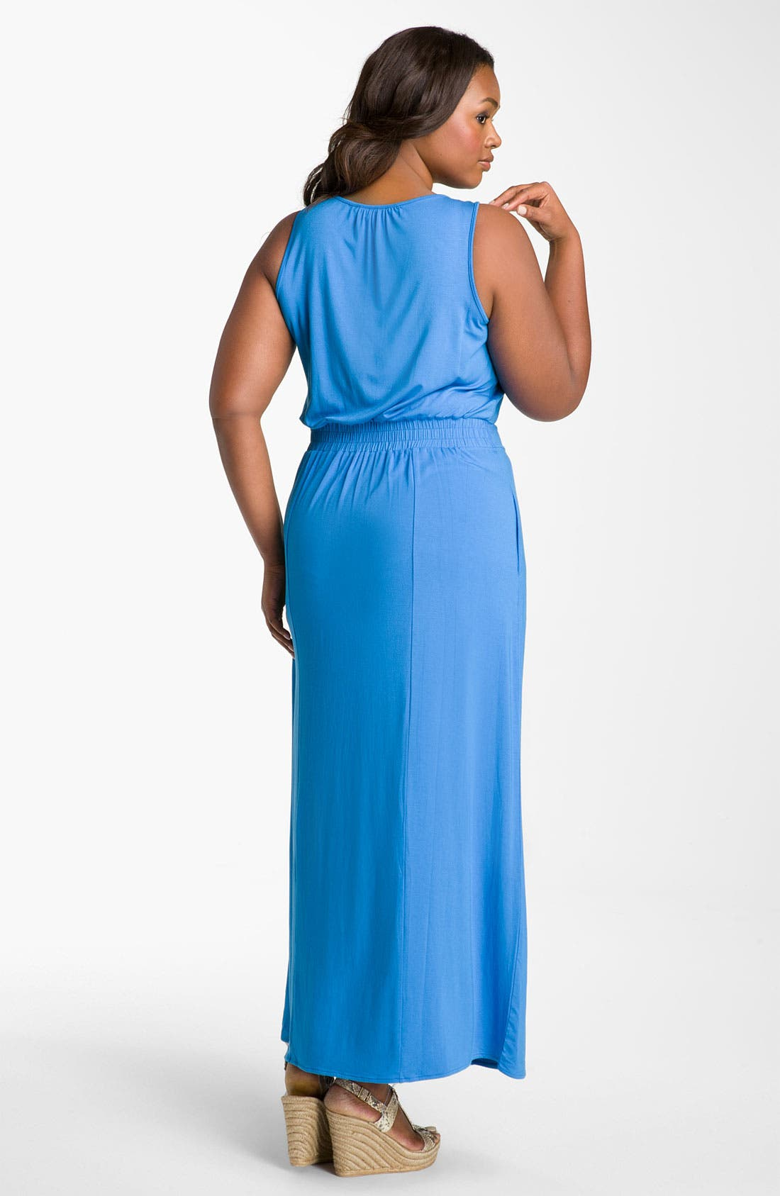 Alternate Image 2  - Sejour Sleeveless Knit Dress (Plus)