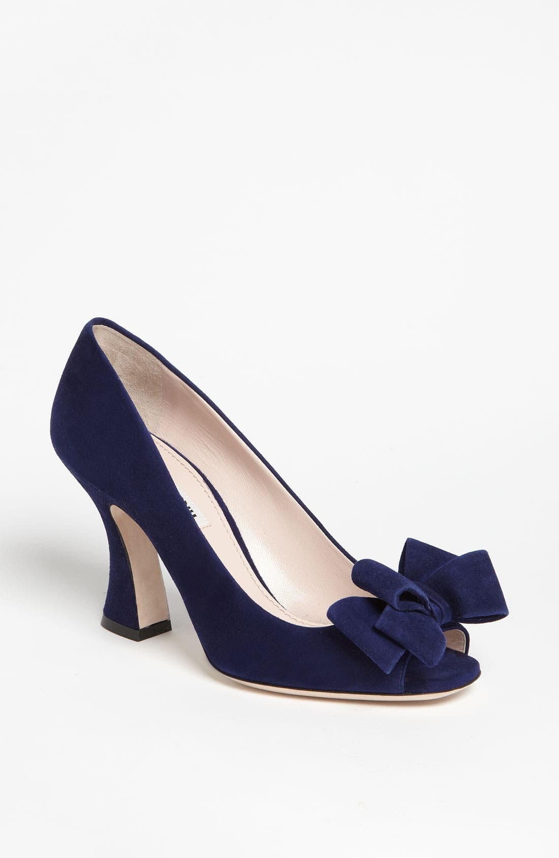 Alternate Image 1 Selected - Miu Miu Bow Pump