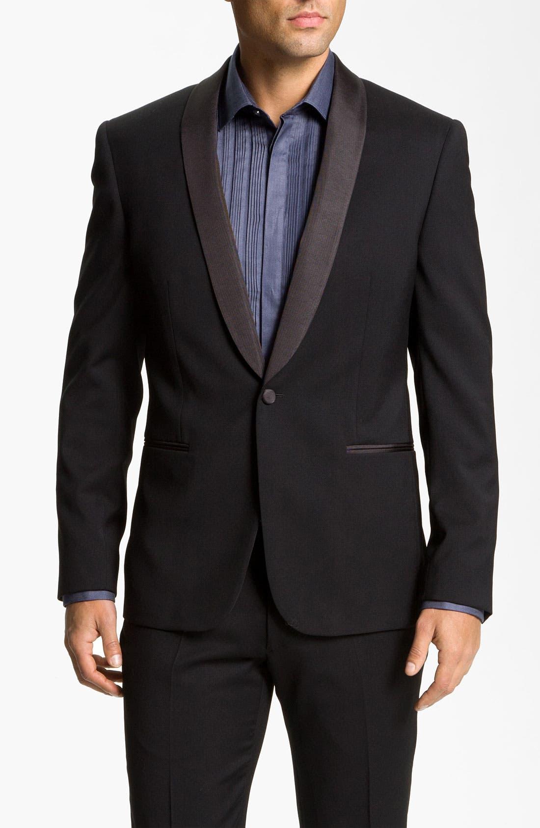 Alternate Image 1 Selected - John Varvatos Star USA 'Mott' Tuxedo