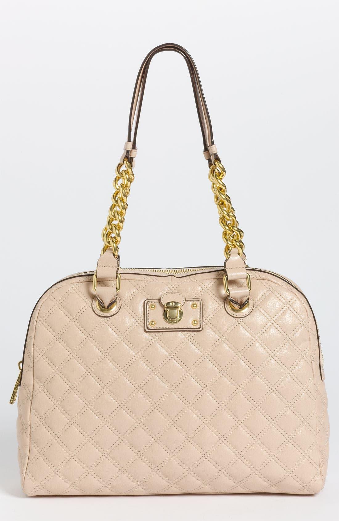 Main Image - MARC JACOBS 'Karlie' Leather Shoulder Bag