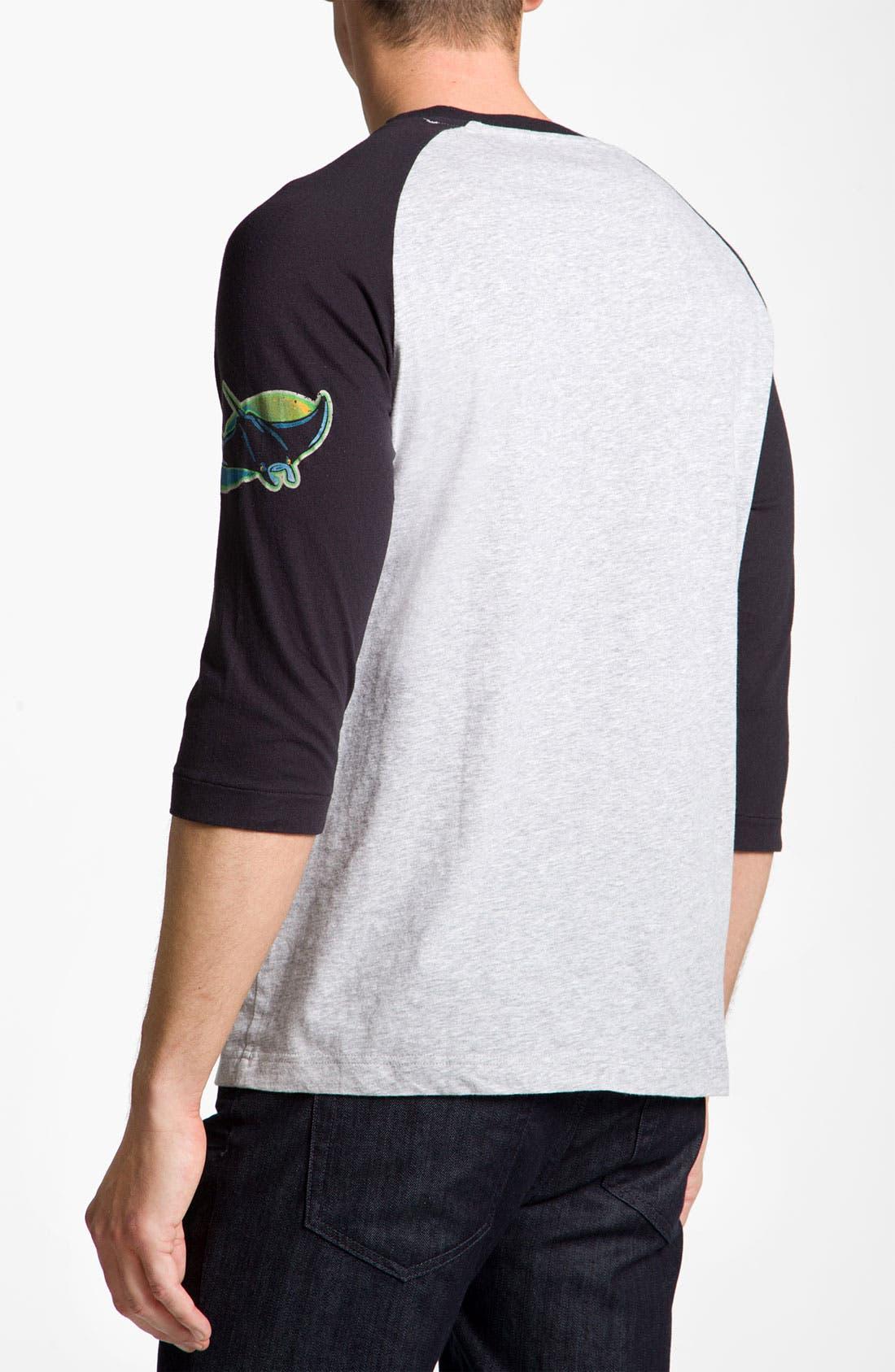 Alternate Image 2  - Wright & Ditson 'Tampa Bay Rays' Baseball T-Shirt