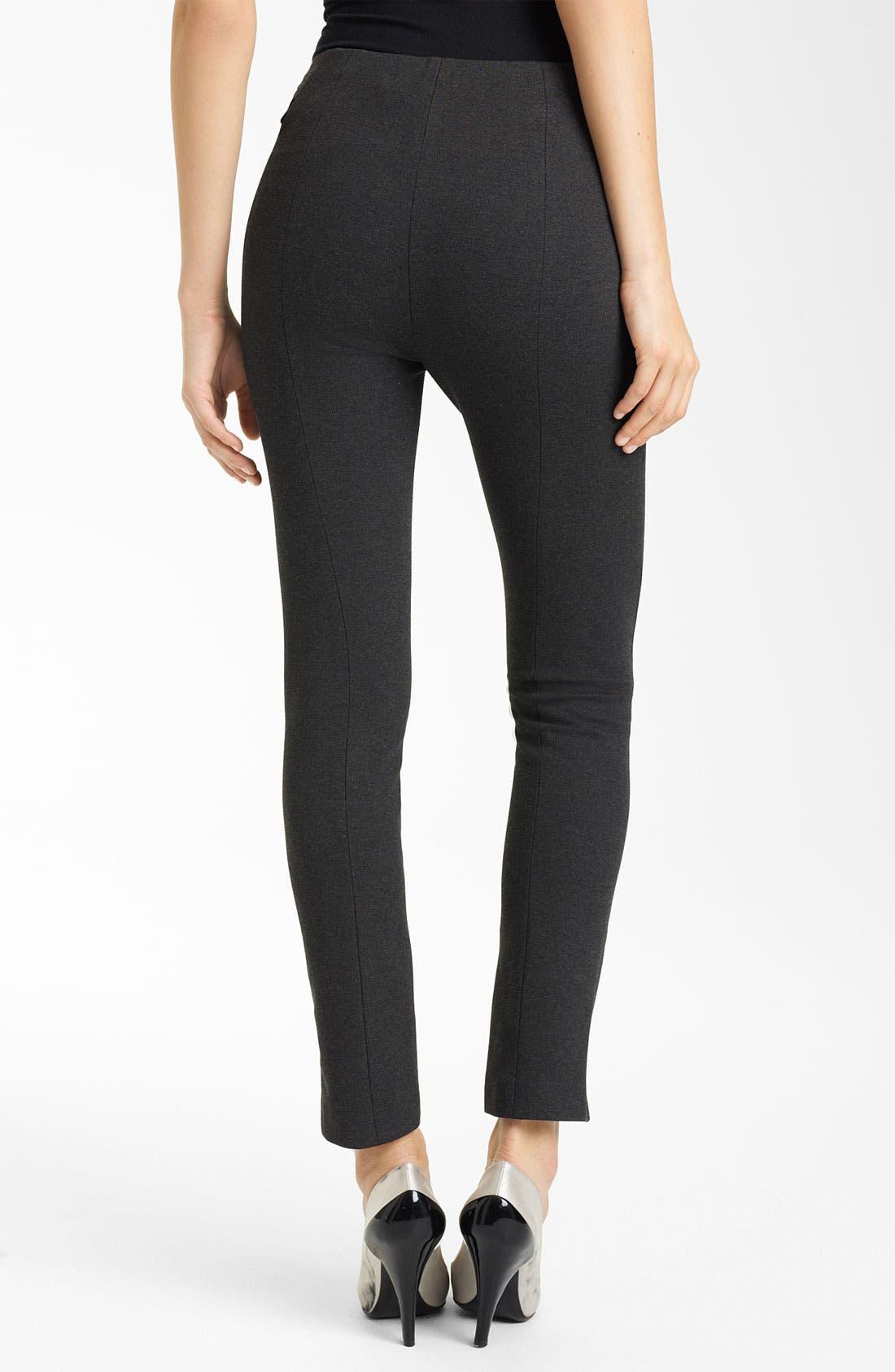 Alternate Image 2  - Donna Karan Collection Slim Jersey Pants