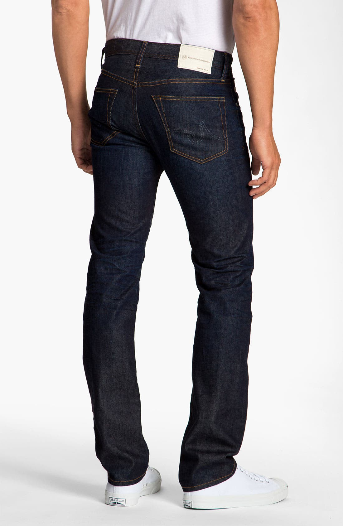 Alternate Image 1 Selected - AG Jeans 'Matchbox' Slim Straight Leg Jeans (2 Year)