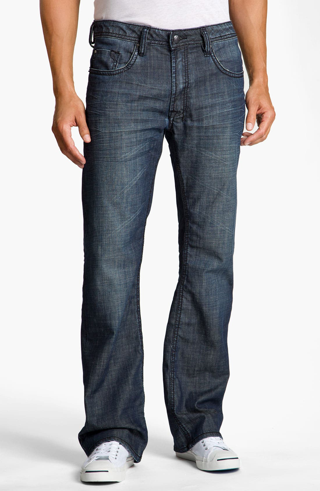 Alternate Image 1 Selected - Buffalo Jeans 'Driven' Straight Leg Jeans (Vintage Stone)