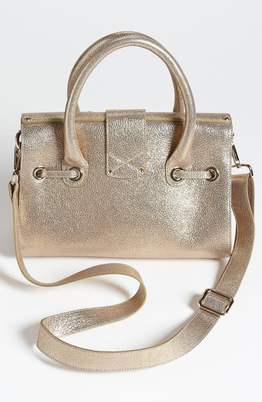 Alternate Image 4  - Jimmy Choo 'Rosalie' Glitter Leather Satchel