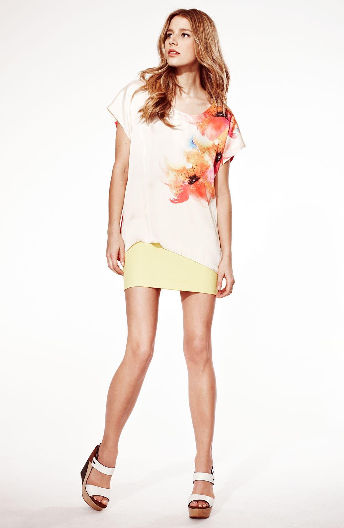 Alternate Image 1 Selected - Bellatrix Top & LMK Miniskirt
