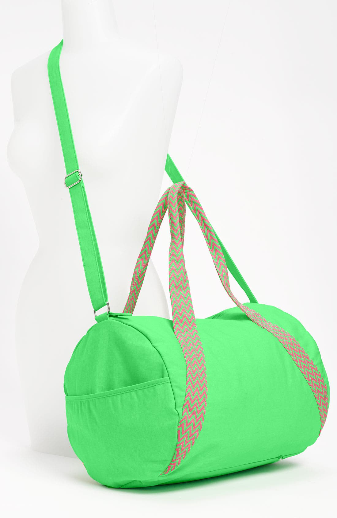 Alternate Image 4  - Lulu Neon Barrel Duffel Bag