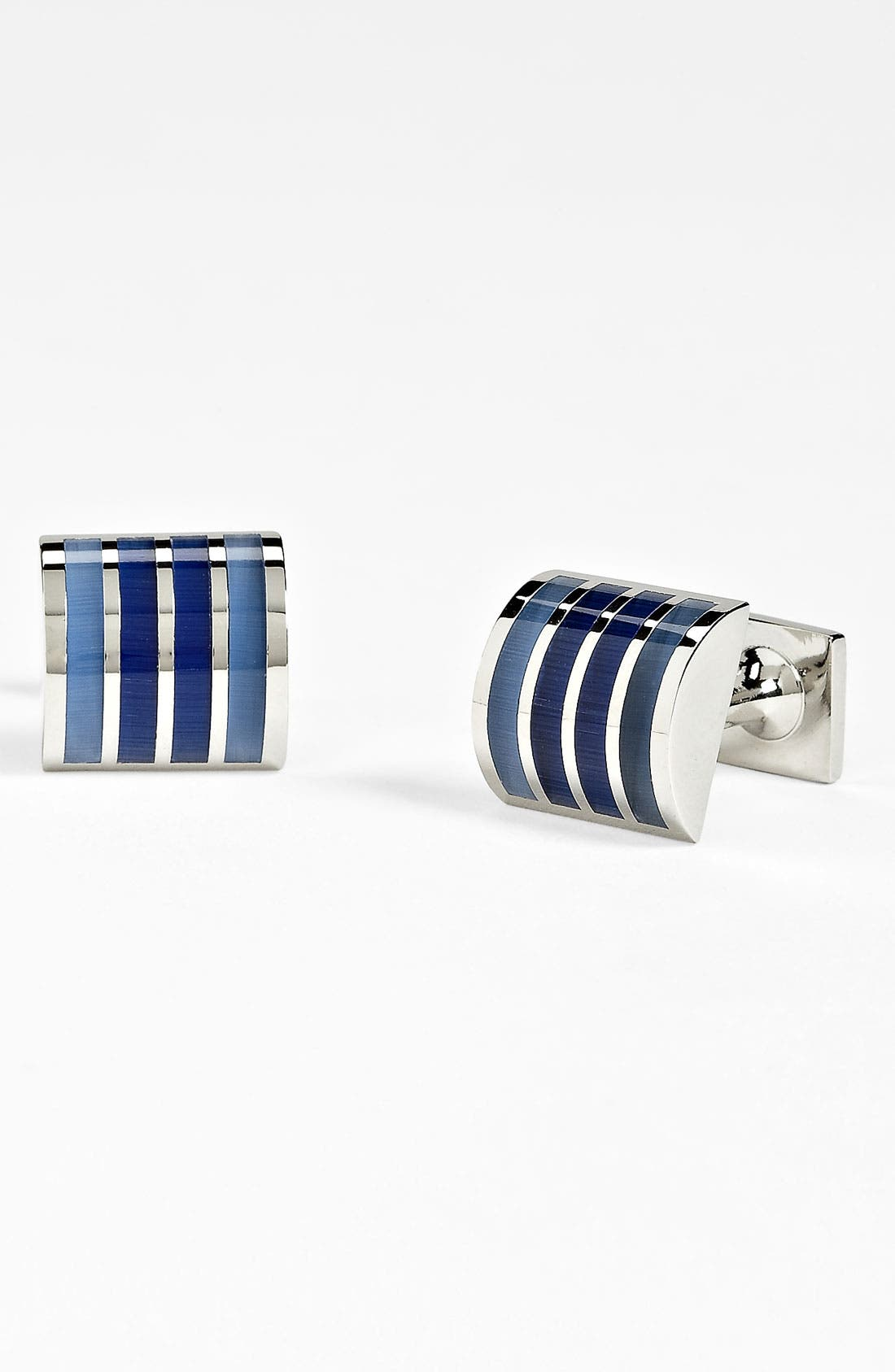 Main Image - Thomas Pink 'Four Stripe' Cuff Links