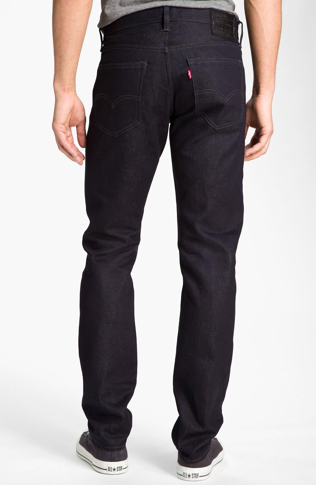 Main Image - Levi's® 'Matchstick' Slim Straight Leg Jeans (Mayfield)