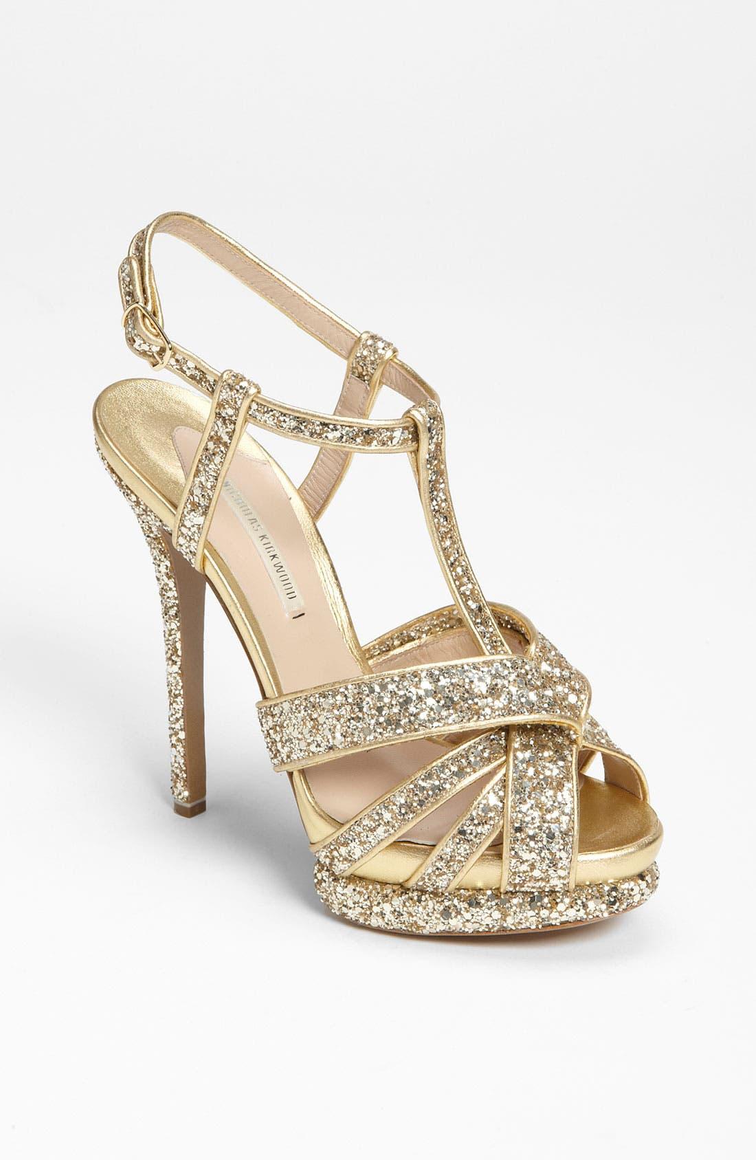Alternate Image 1 Selected - Nicholas Kirkwood Glitter Sandal