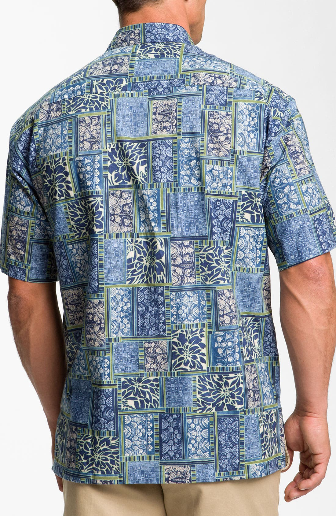 Alternate Image 2  - Tori Richard 'Boxwood' Cotton Lawn Sport Shirt