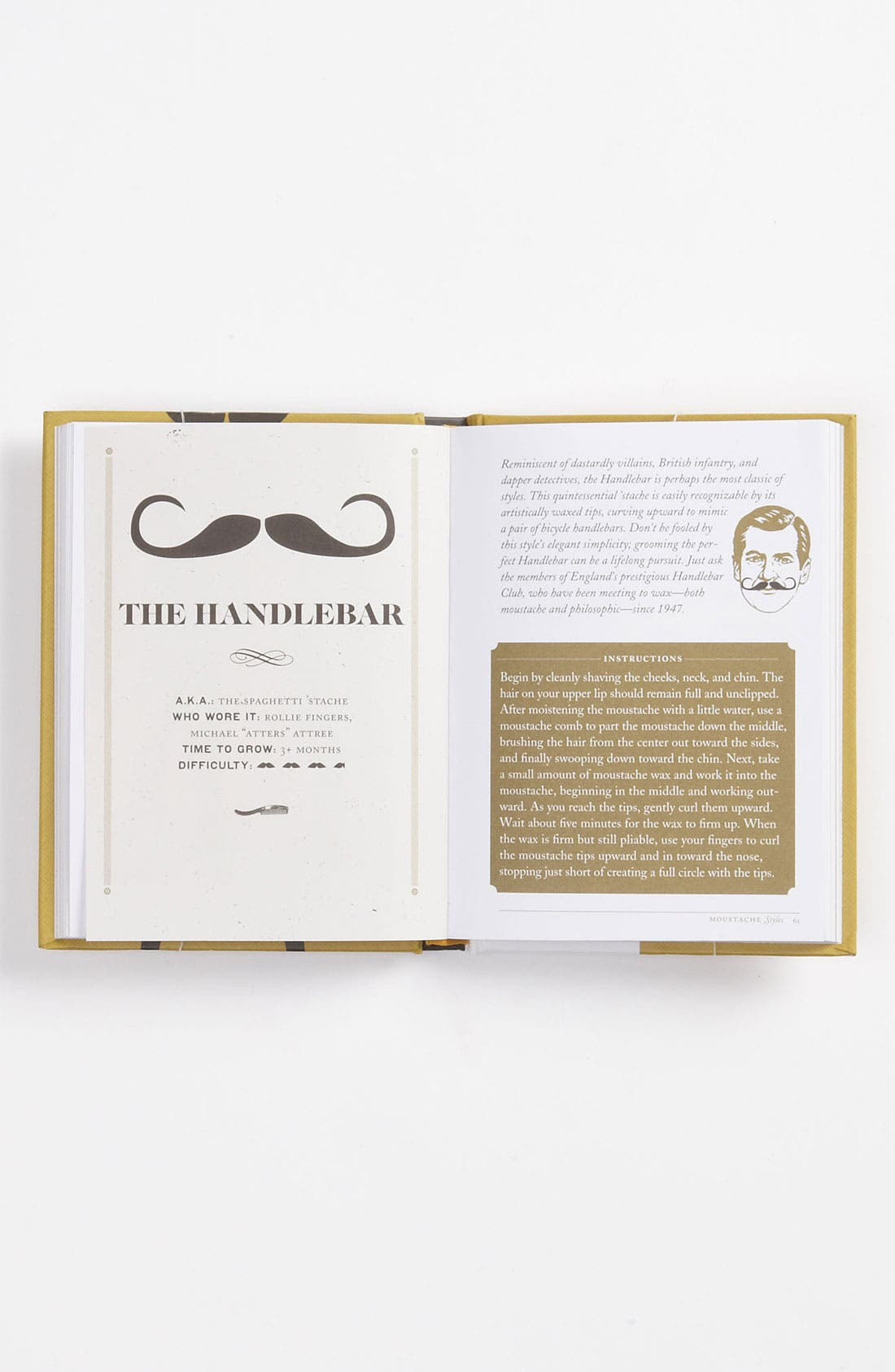Alternate Image 3  - Lucien Edwards 'The Moustache Grower's Guide' Book