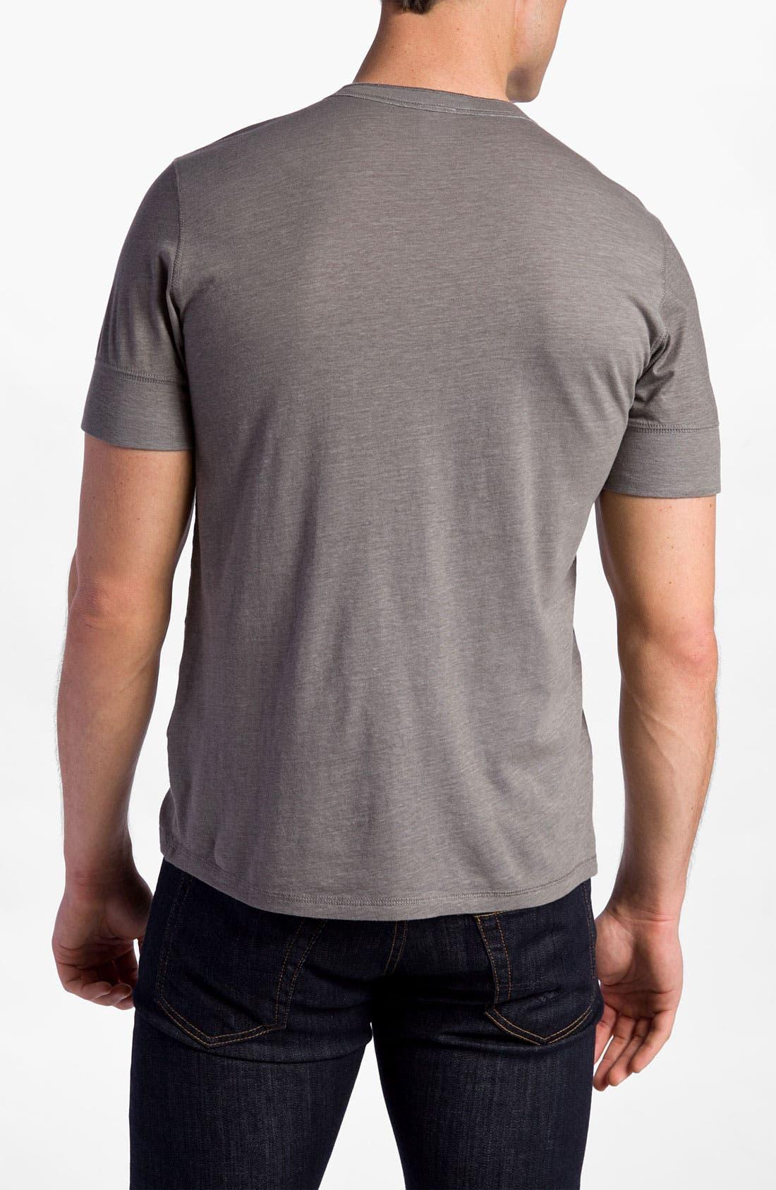 Alternate Image 2  - NSF Clothing 'Archie' Short Sleeve Henley