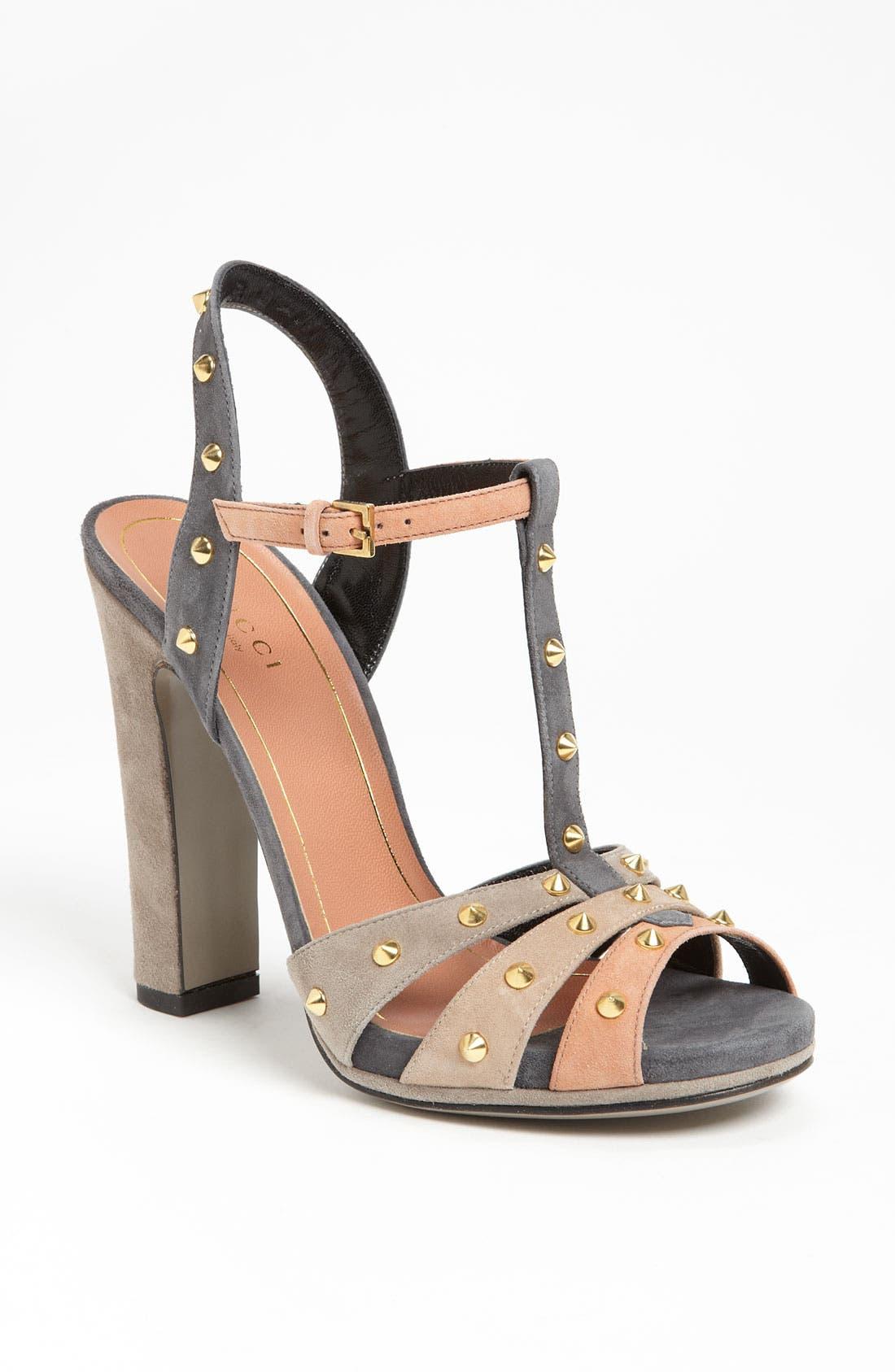 Alternate Image 1 Selected - Gucci 'Jacquelyne' Sandal